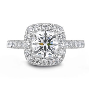 forevermark halo engagement ring