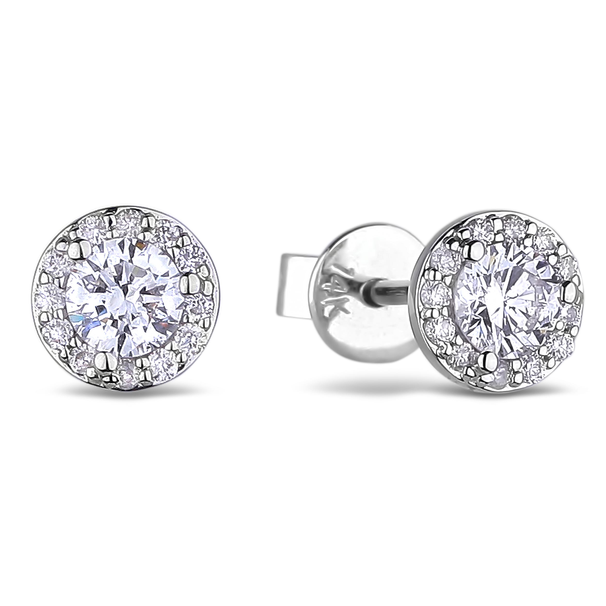 Canadian Diamond Stud Earrings