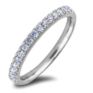 Petite Matching Diamond Chanel Set Wedding Band