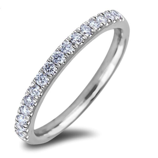 Petite Matching Diamond Chanel Set Wedding Band