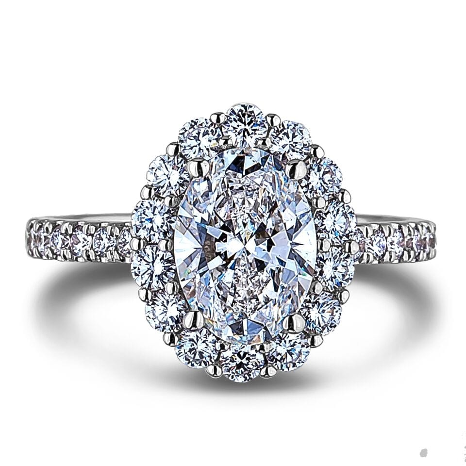White Gold Engagement Ring Maintenance