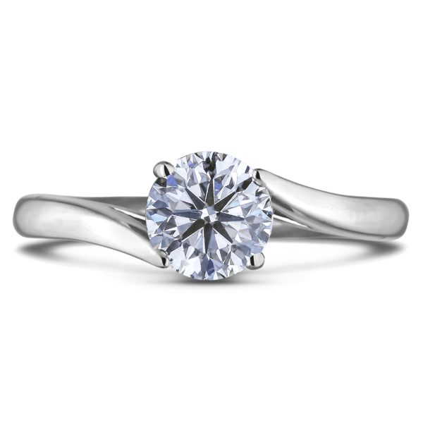 canadian diamond solitaire tension setting ring