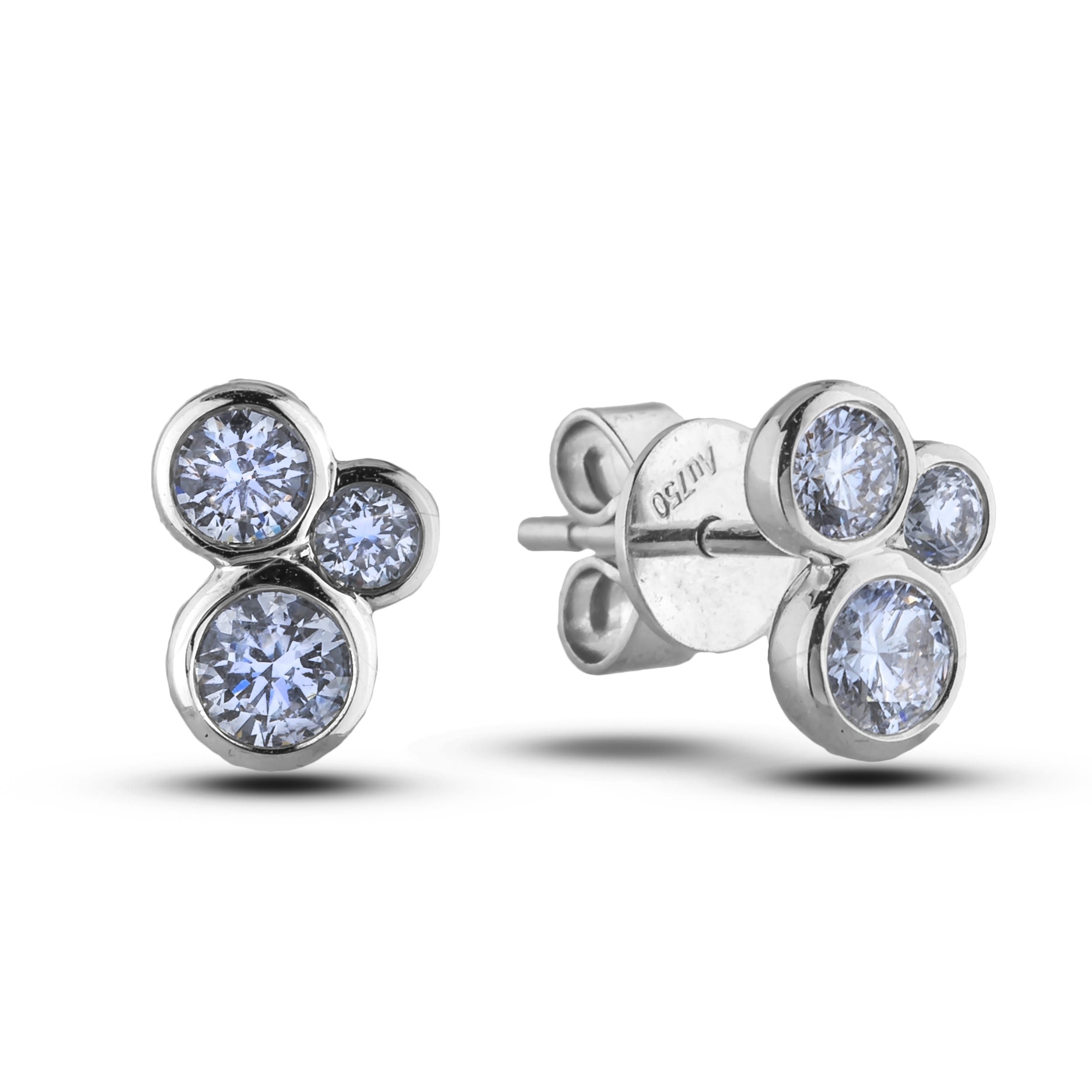 ac392cc67 FOREVERMARK TRIBUTE COLLECTION DIAMOND STUD EARRINGS - Lugaro