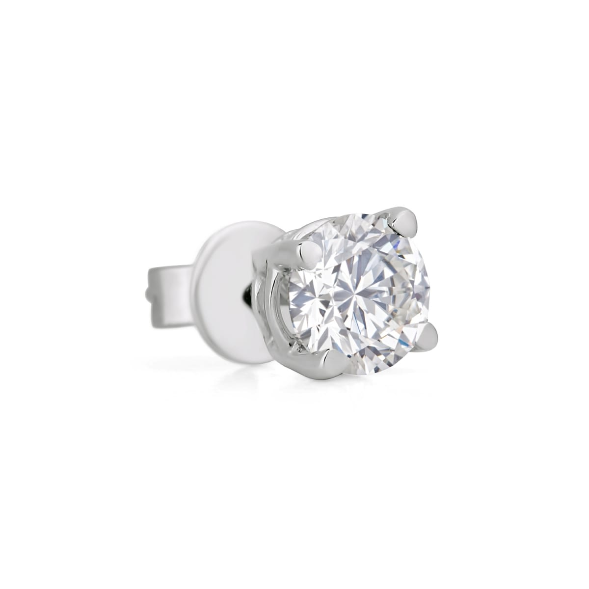 53995597f4c05 SINGLE DIAMOND STUD EARRING