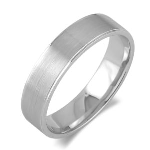 Ladie`s White Gold Wedding Band