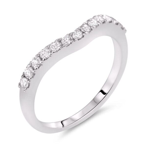 universal diamond matching wedding band