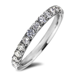 Women`s Diamond Anniversary Wedding Band