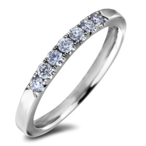 Women`s diamond wedding band