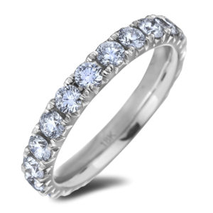 Forevermark diamond anniversary wedding ring