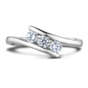 bypass Engagement ring
