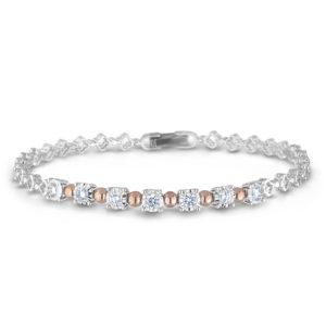 Forevermark Round Diamond Tennis Bracelet