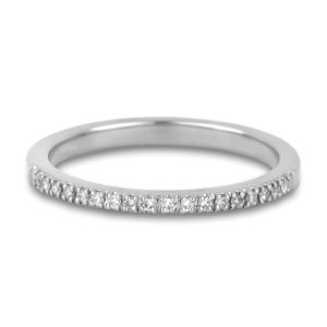 Matching Diamond Chanel Set Wedding Band