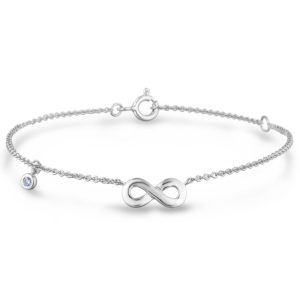 canadian diamond infinity bracelet